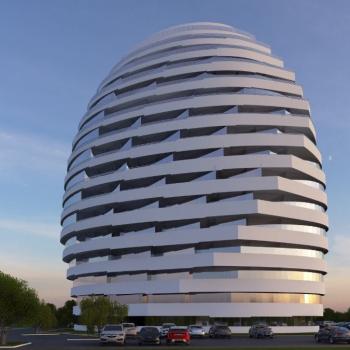 برج مسکونی با طراحی مدرن در شهر فاماگوستا